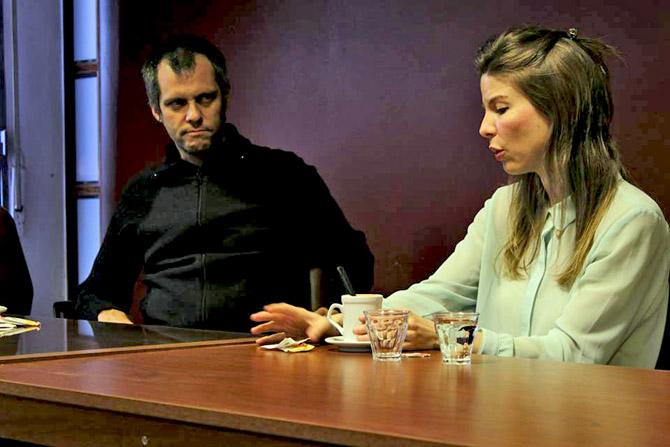 Pablo Racioppi y Carolina Azzi fueron recibidos por las autoridades de la Universidad Nacional Tecnologica