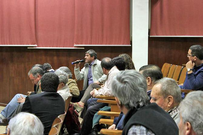 El publico pudo interactuar con los directores de la pelicula y el escritor Juan José Sebreli