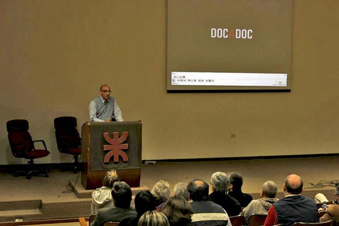 Ing. Jorge Buabud en la apertura del evento