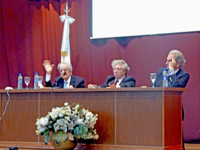 Intervención de Juan José Sebreli