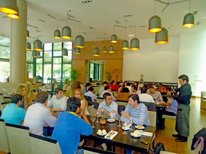 Almuerzo de los participantes en el Hotel Sheraton de Tucumán