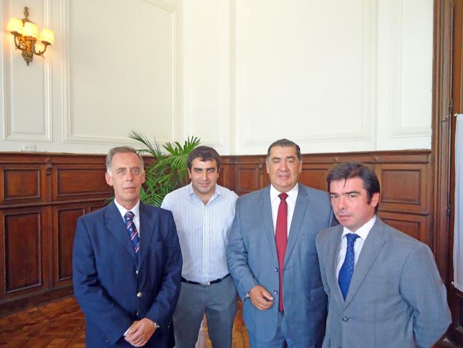 Javier De Quintana, Agustin Romano Norri, Federico Romano Norri, Cleto Martinez Iriarte