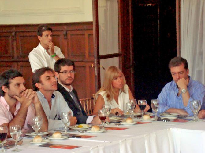 Federico Bravo, Roberto Sanchez, Marcos Paez de la Torre, Fernanda Sarrulle, Pablo Ibarreche