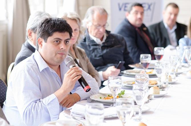 El periodista Sergio Silva Velazquez