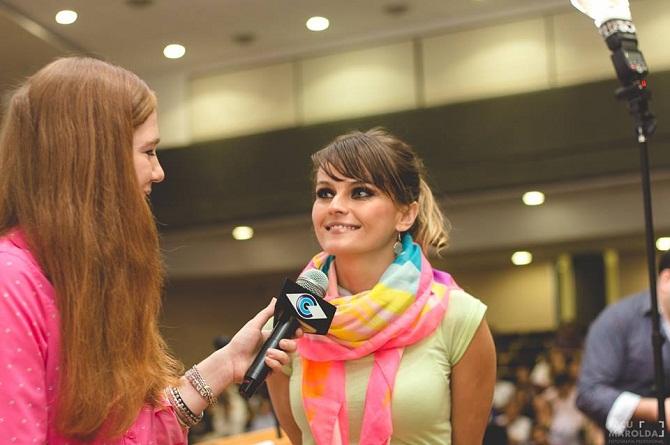 Entrevista en TV a Gloria Alvarez