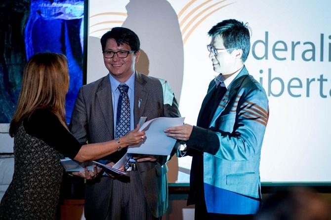 """Wei Ding y Enrique Huang declarados """"Huésped de Honor"""" por el Concejo Deliberante de la Ciudad de San Miguel de Tucumán"""