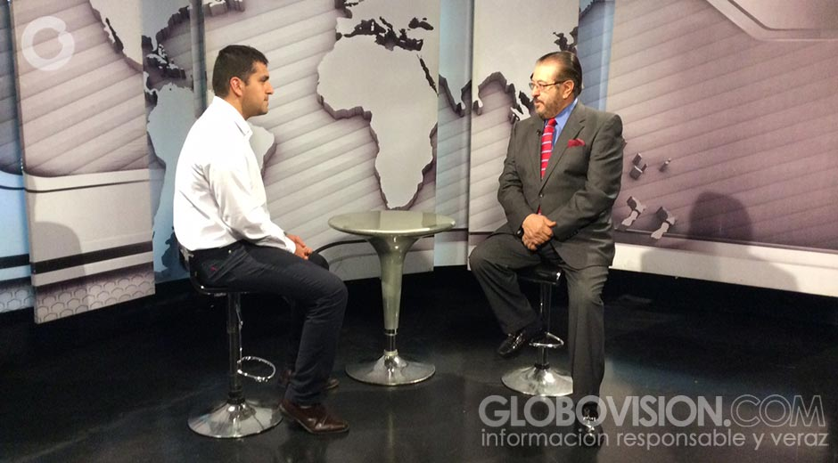Entrevista en Globovision al presidente de Federalismo y Libertad