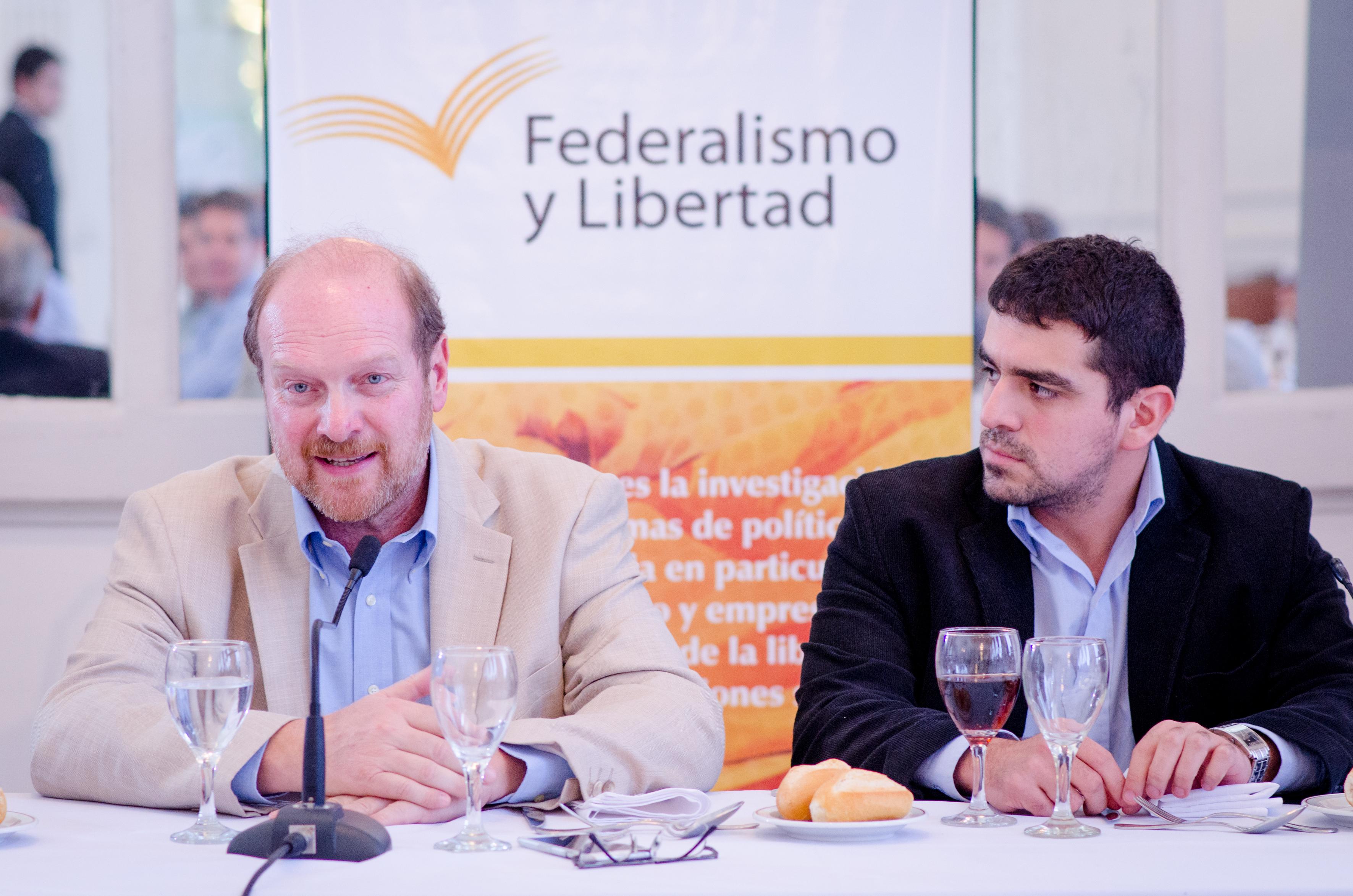 Almuerzo de trabajo junto a Gustavo Grobocopatel: los desafíos de la política y los negocios