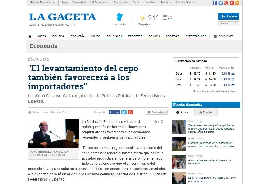 """""""El levantamiento del cepo también favorecerá a los importadores"""""""