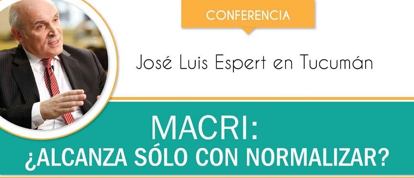 """Conferencia """"Macri: ¿alcanza sólo con normalizar?"""""""