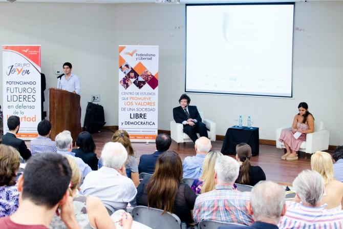 Javier Milei - Federico López Pondal, coordinador del Grupo Joven de Federalismo y Libertad