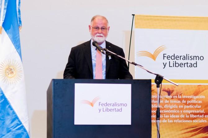 Alberto Manguel, director de la Biblioteca Nacional