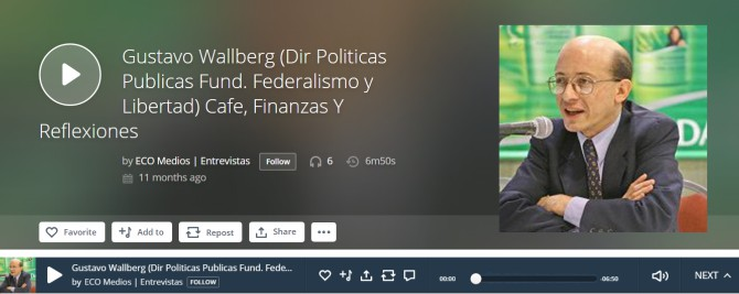 Las Economías Regionales y el rol del Estado, Gustavo Wallberg