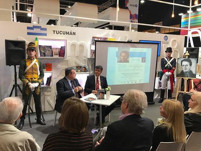 Presentación de la obra sobre José Ignacio Thames en la 43º Feria Internacional del Libro de Buenos Aires