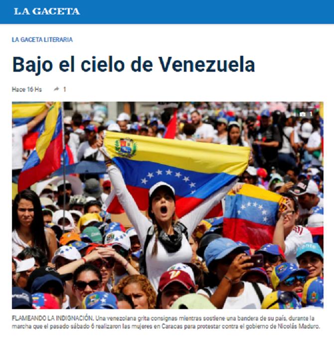 Bajo el cielo de Venezuela José Guillermo Godoy