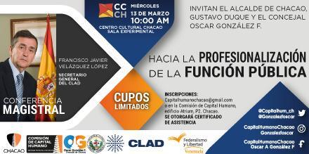 Chacao profesionaliza a sus servidores públicos bajo el aval del CLAD