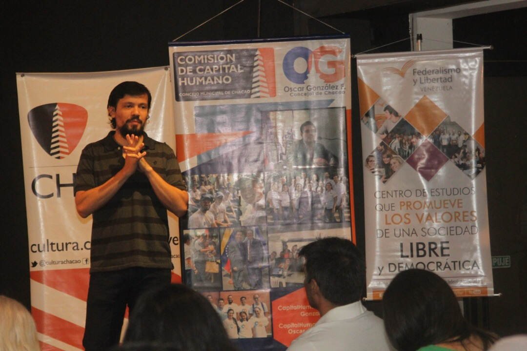 Caracas se llenó de ganas de aprender con El Negocio Cinematográfico