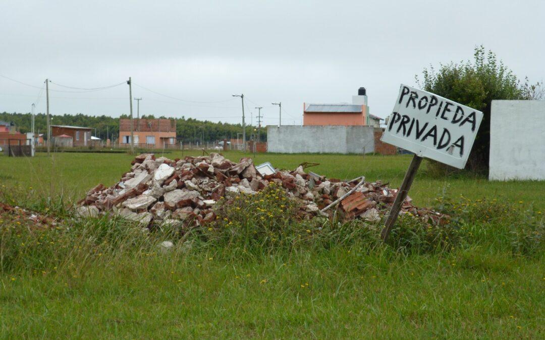 Federalismo y Libertad manifiesta sus preocupaciones por el avasallamiento a la propiedad privada