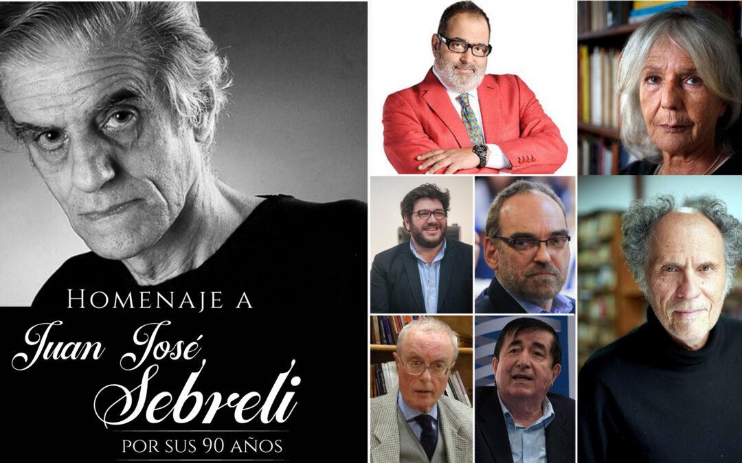 Homenaje a Juan José Sebreli por sus 90 años