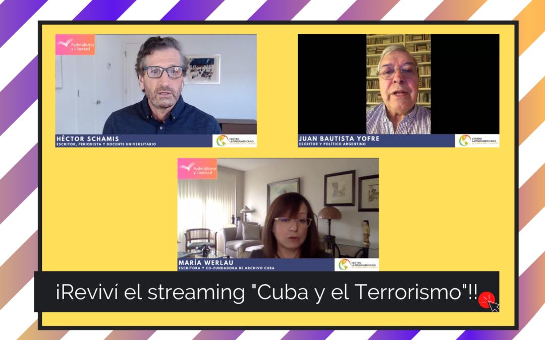 Revive el conversatorio Cuba y el terrorismo