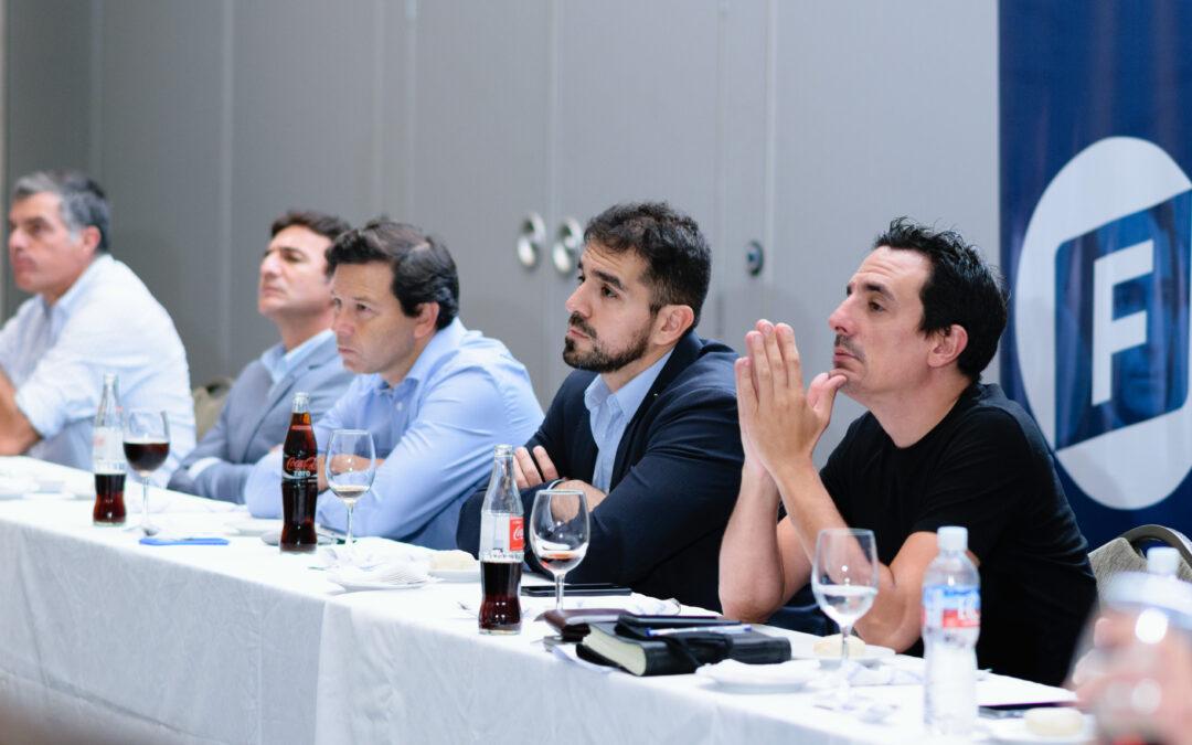 Jorge Giacobbe: almuerzo con dirigentes y presentación del equipo de Políticas Públicas