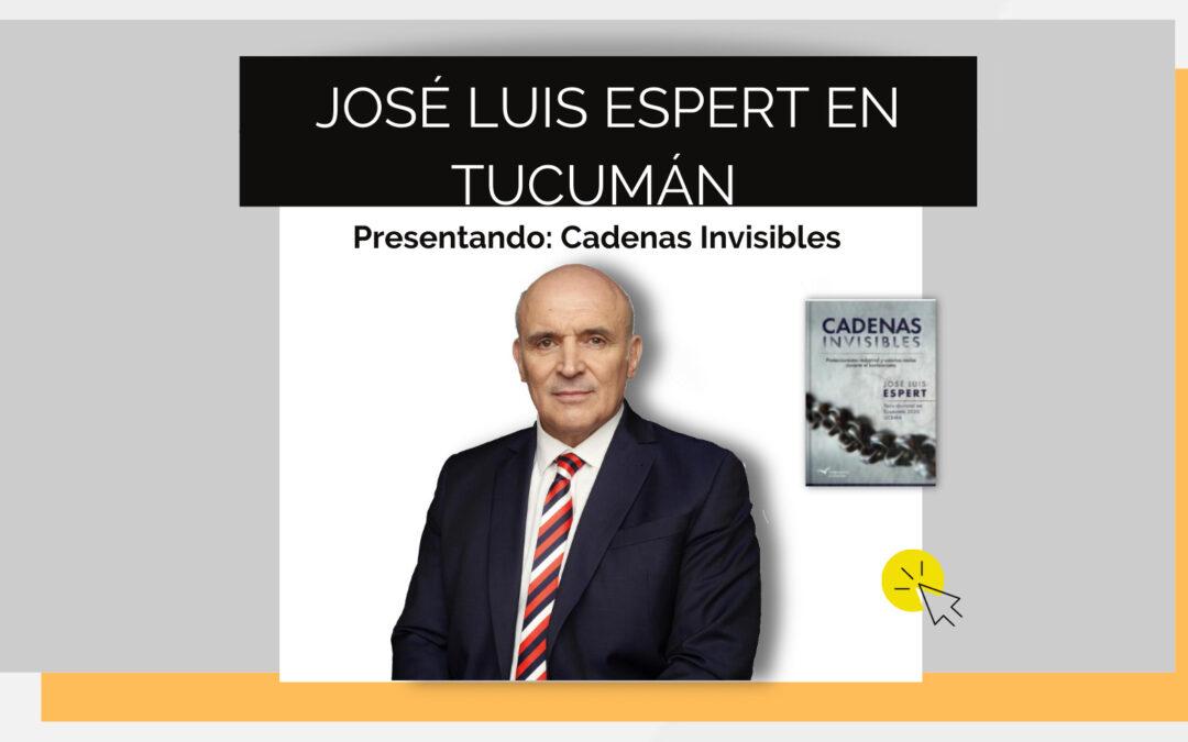José Luis Espert presentará su nuevo libro en Tucumán