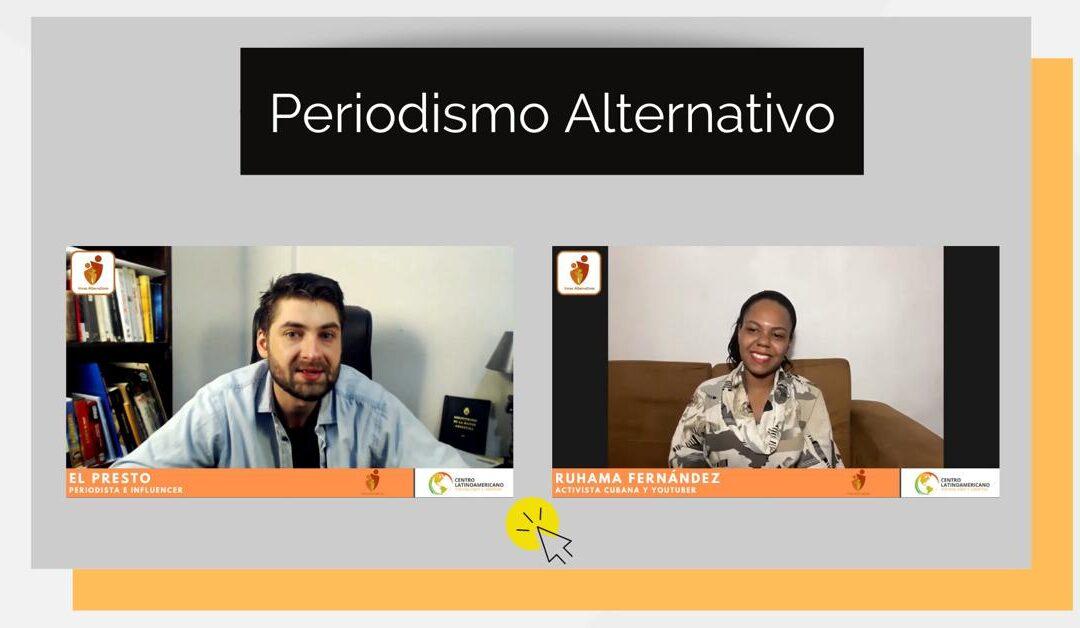 """Revive """"Voces Alternativas"""" con El Presto y Ruhama Fernández"""