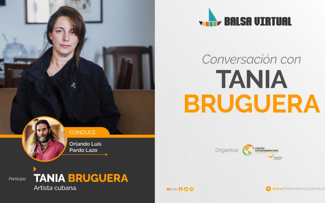 Balsa Virtual: Tania Bruguera con Orlando Luis Pardo Lazo