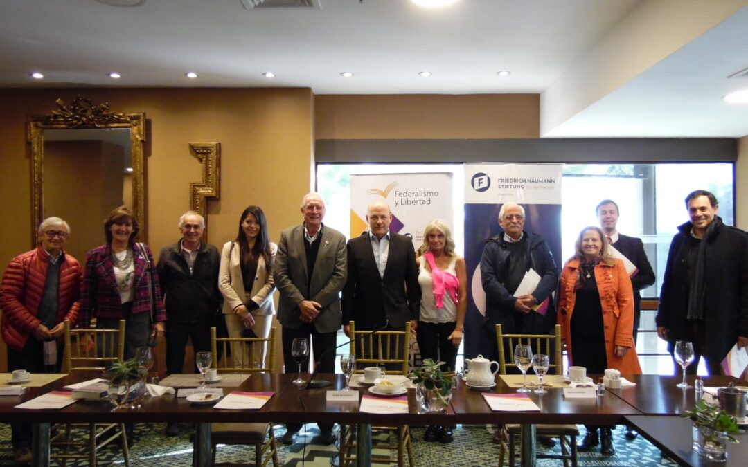 Sergio Berensztein en Salta: Almuerzo de trabajo