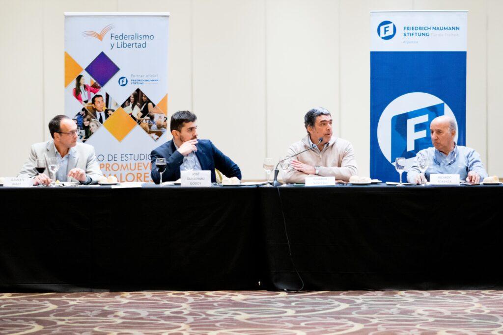 Jose Guillermo Godoy, Ricardo Neme, Clemente Babot