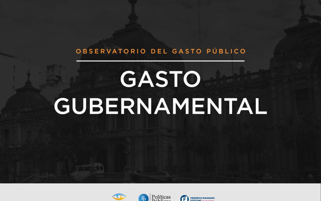 Informe Observatorio del Gasto Público   Gasto Gubernamental